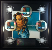 RAY OF LIGHT - USA RIAA MULTI-PLATINUM DISC SALES AWARD